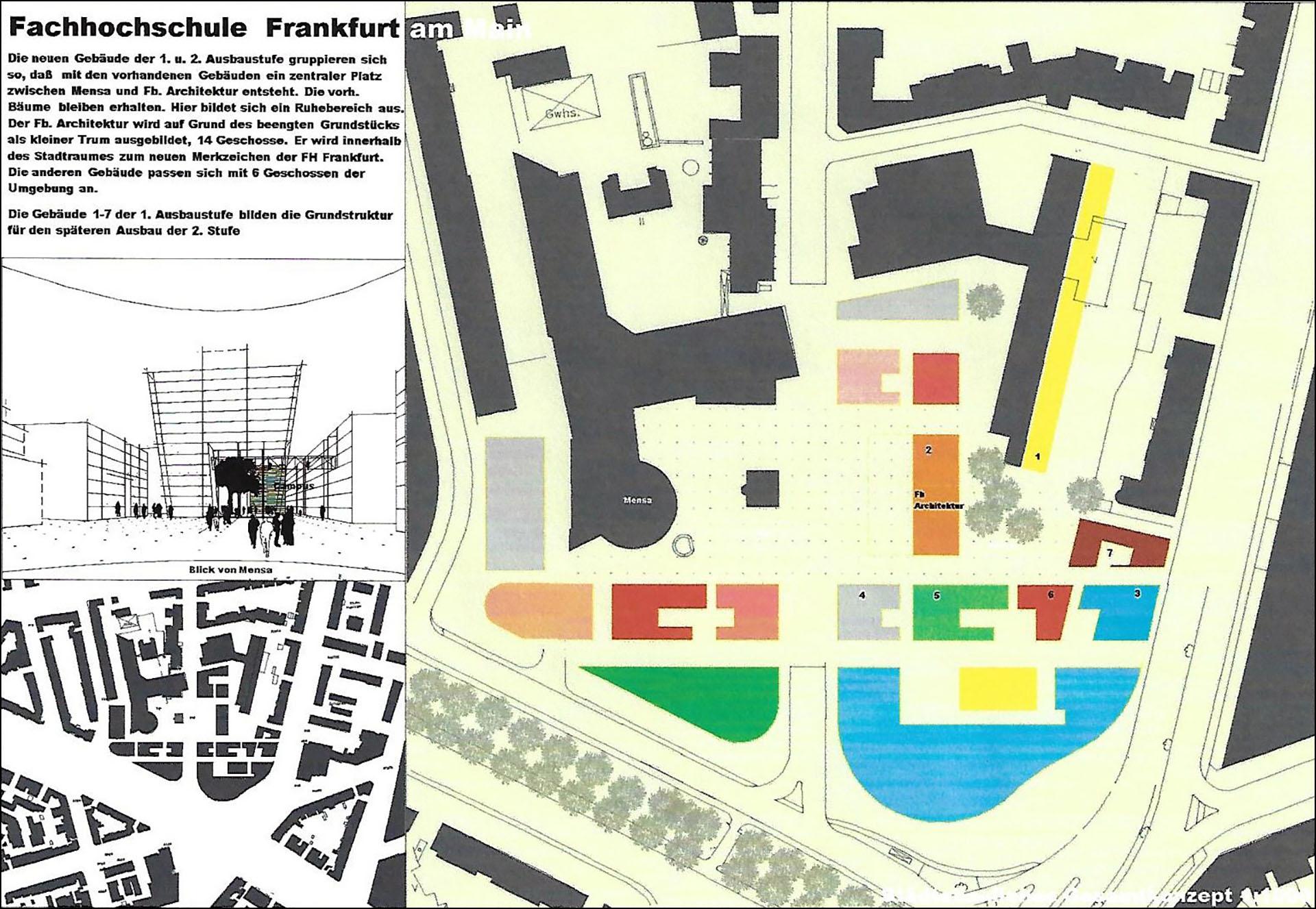 Fachhochschule Frankfurt / 1999 – Grüttner Architekten